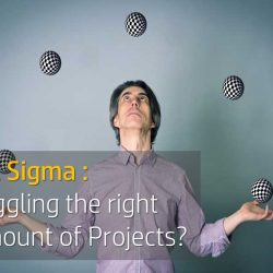 Juggling the right amount of Six Sigma projects