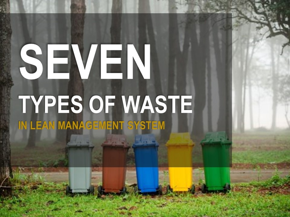 seven types of waste cover